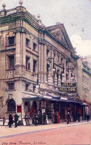 The New Theatre - From a Postcard sent in 1908.
