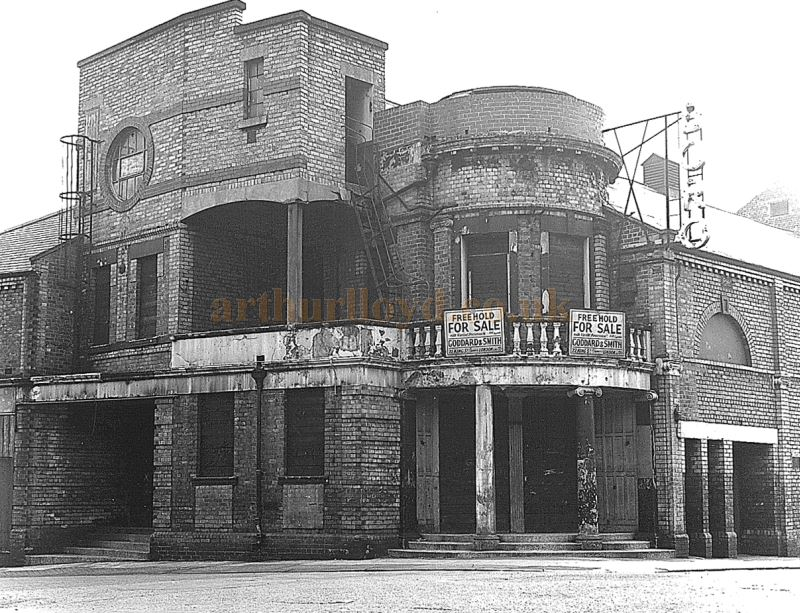 The Borough Theatre, North Shields in 1957 whilst up for sale and shortly before its demolition.