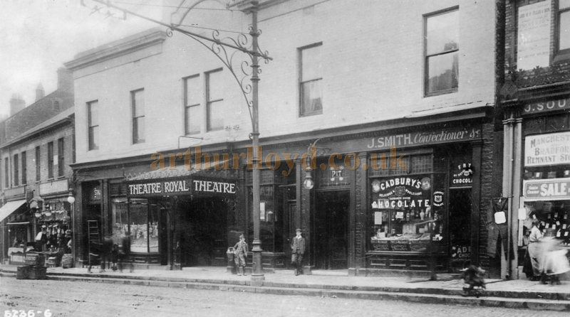 An early photograph of the Theatre Royal, Prudhoe Street, North Shields - Courtesy Maurice Friedman, British Music Hall Society.