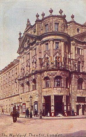 The Waldorf Theatre - From a period postcard.