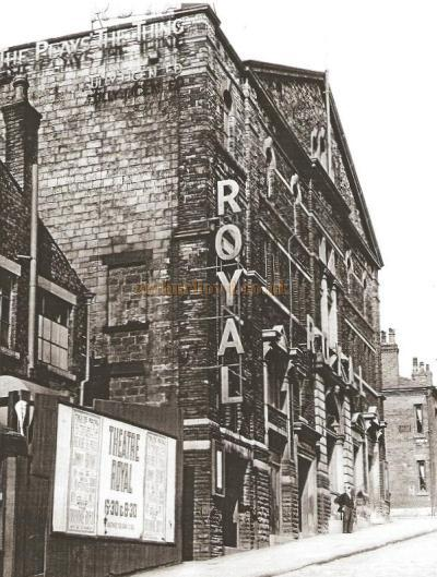 The second Theatre Royal, Oldham - From the Chronicle - Courtesy Alex Balmforth