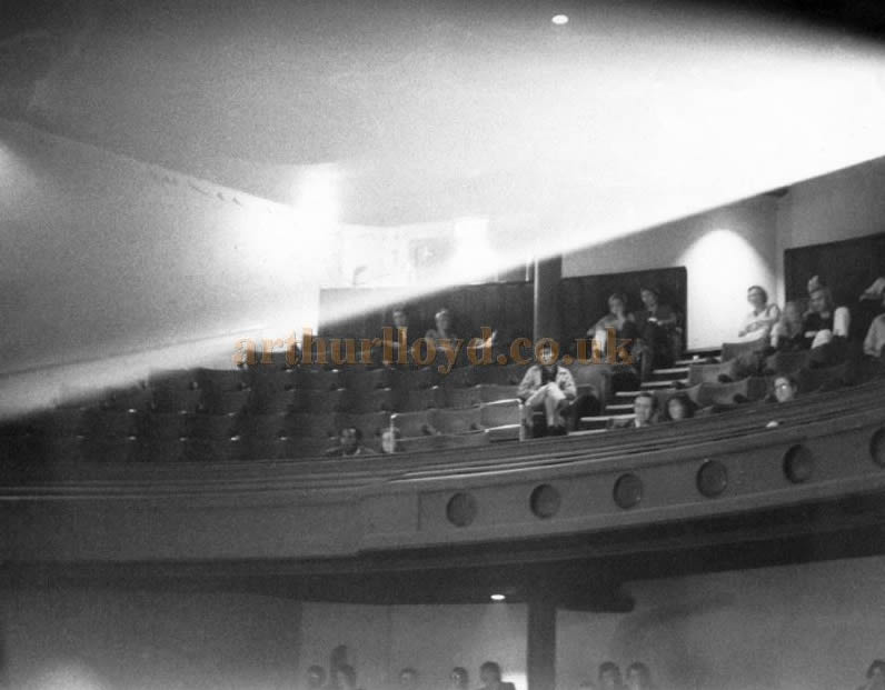 The Auditorium of the London Pavilion in 1971, long after its conversion for Cinema use in 1934 - Courtesy Andrew Ward