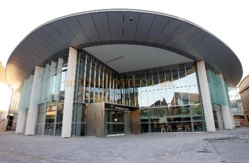The Perth Concert Hall - Courtesy Horsecross for Perth & Kinross Council.