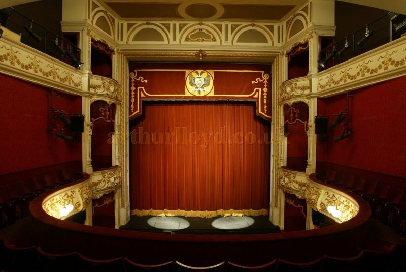 The Auditorium of the Perth Theatre as decorated for most of its years - Courtesy the Perth Theatre.