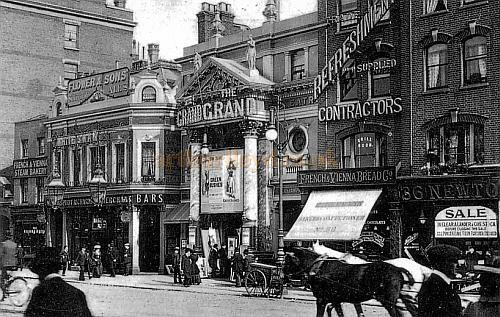 Postcard for The Grand Theatre, Islington, 1903