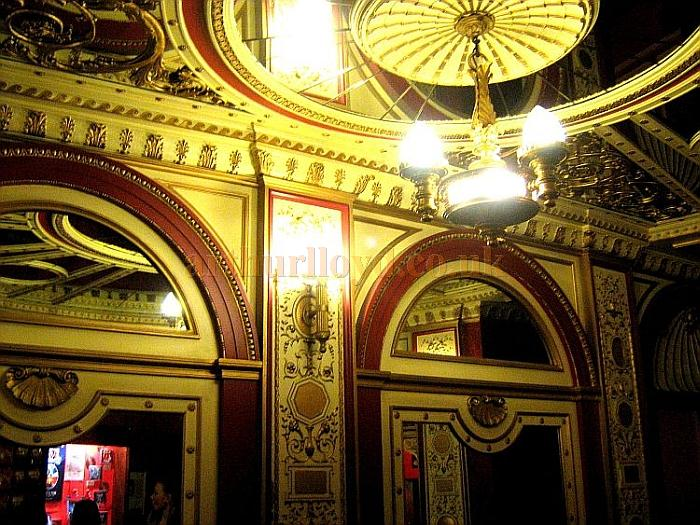 The wonderfully elaborate Foyer of the Phoenix Theatre in November 2010 - Courtesy Charles S. P. Jenkins