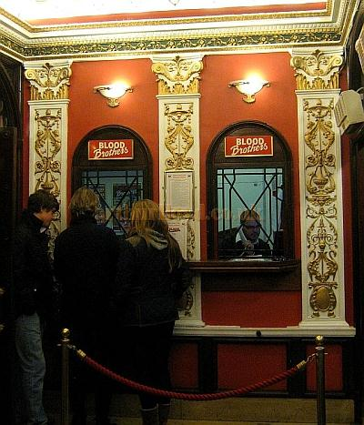 The Phoenix Theatre Box Office in November 2010 - Courtesy Charles S. P. Jenkins.