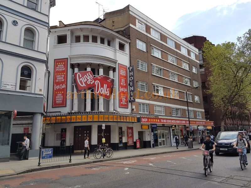 The Phoenix Theatre during the run of 'Guys and Dolls' in May 2016 - Photo M.L.