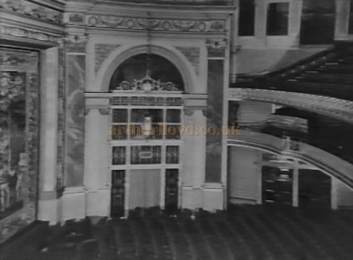 The original Auditorium of the Plaza Theatre, Piccadilly Circus