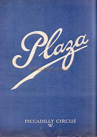 The opening night programme for the newly built Plaza Theatre in 1926 - Click to see this programme.