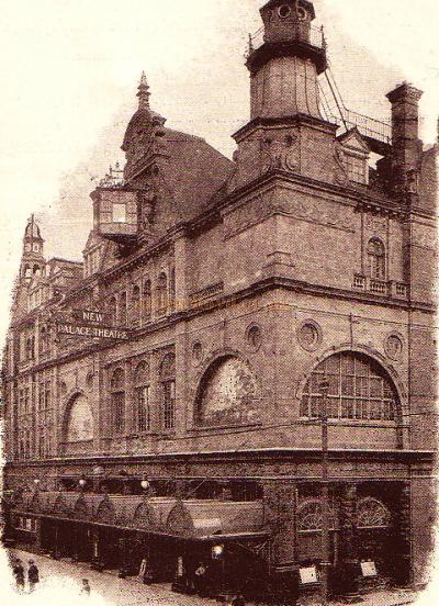The New Palace Theatre of Varieties, Plymouth  - 1905