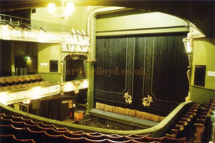 Auditorium of the Palace Theatre, Plymouth in 1982 - Courtesy Ted Bottle