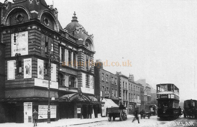 The Hippodrome Theatre, Poplar in the 1920s - Courtesy Steve Kentfield.