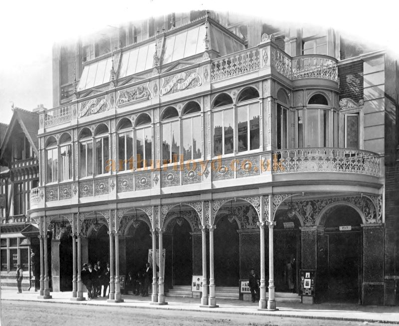 An Early Photograph of the Portsmouth Theatre Royal and Opera House - From a 1920s Lion Foundry Company Catalogue - Courtesy Clive Greathurst.