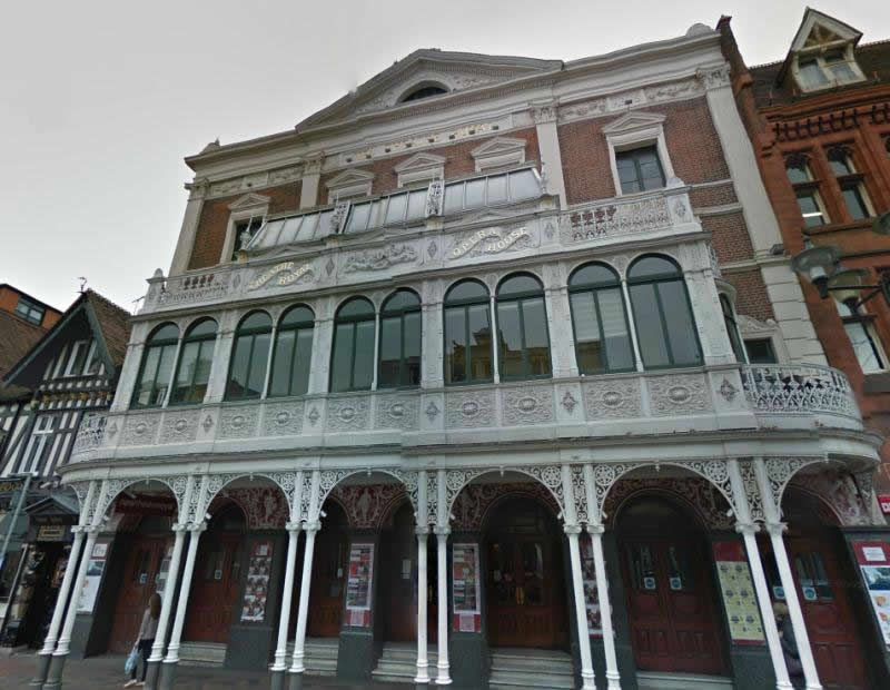 A Google StreetView Image of the Theatre Royal, Portsmouth today - Click to Interact.