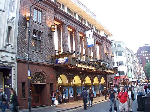The Prince Edward Theatre during the run of 'Mary Poppins' in October 2006. - Photo M.L.