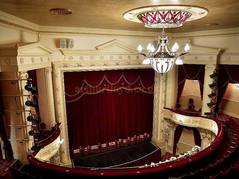 The splendidly restored Bertie Crewe auditorium of the Palace Theatre, Redditch - Courtesy Paul Hughes