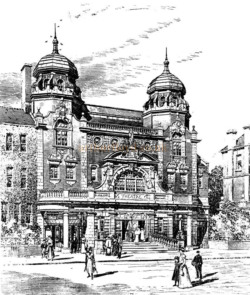 The New Richmond Theatre - From the ERA of the 16th of September 1899.