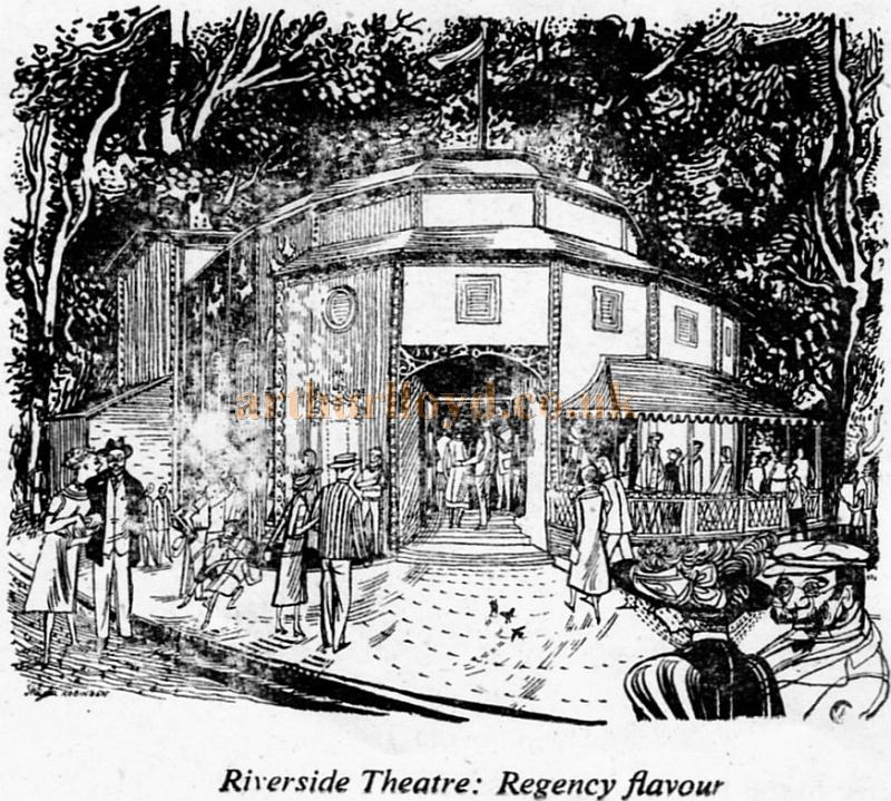 Riverside Theatre: Regency flavour