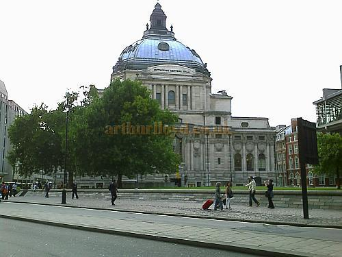 The Methodist Central Hall, built in 1912 on the Site of the Royal Aquarium. - Photo M.L. August 2008