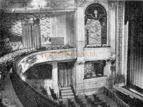 The Royal Artillery Theatre Auditorium - From a Wheeler and Salisbury Repertory Programme of 1949 - Courtesy Michelle Bowen.