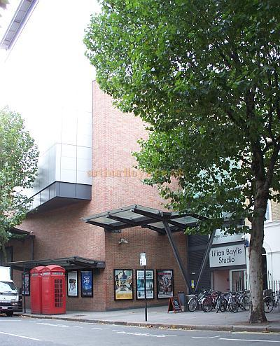 The entrance to the Lilian Baylis Studio Theatre at Sadler's Wells in September 2009 - Photo M.L.