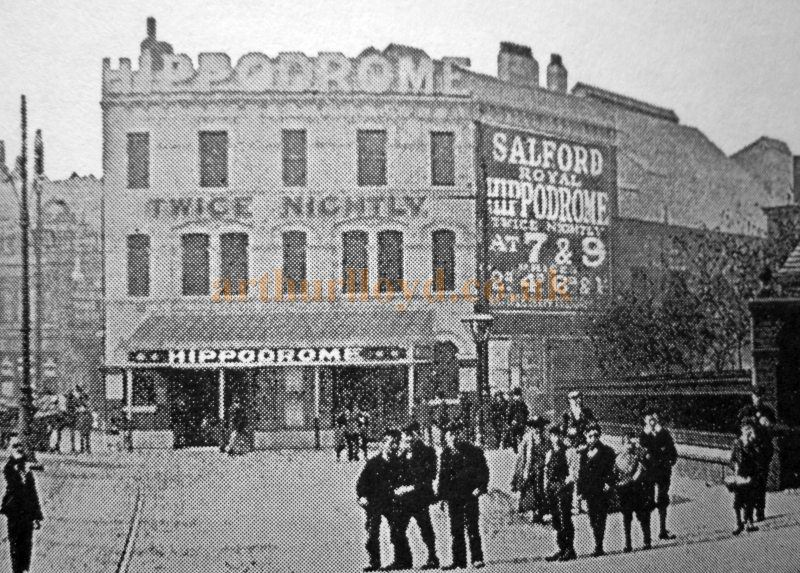 An early photograph of the Salford Royal Hippodrome - Courtesy Roy Cross