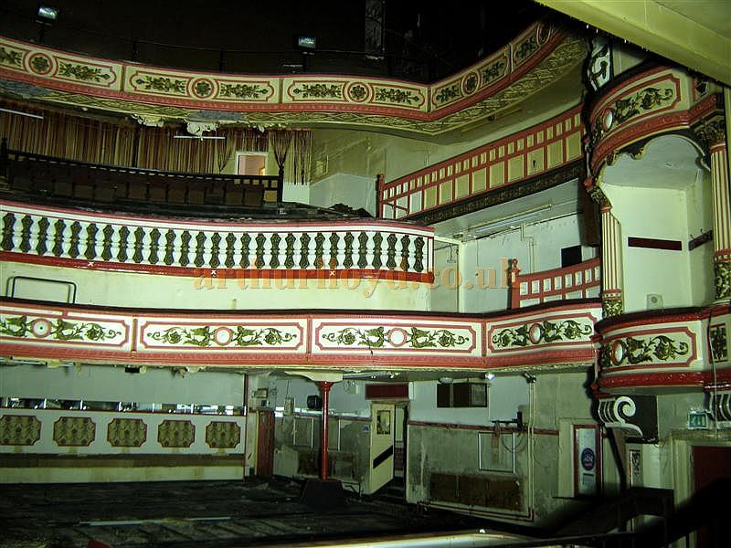 The auditorium of the Victoria Theatre, Salford in July 2012 - Courtesy K.R.