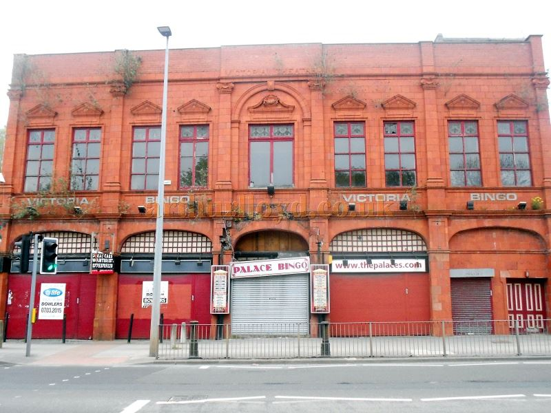 The Victoria Theatre, Salford in April 2015 - Courtesy Alfred Mason