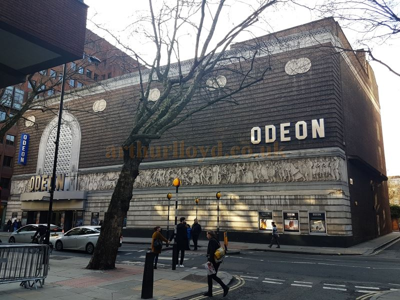 The Odeon, Shaftesbury Avenue, in March 2018, formerly the Saville Theatre - Photo M. L.