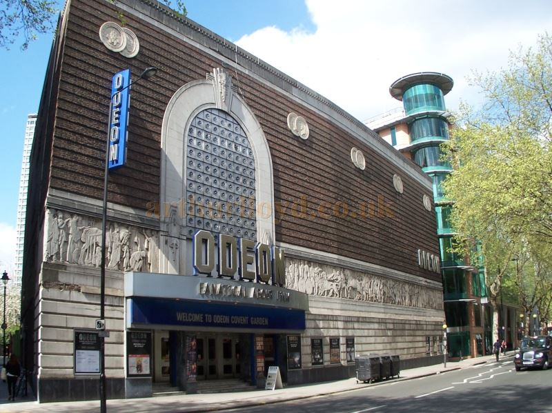 The Odeon, Shaftesbury Avenue, in April 2014, formerly the Saville Theatre - Photo M. L.