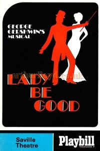 Lady Be Good Programme