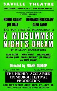 A Midsummer Night's Dream Flyer
