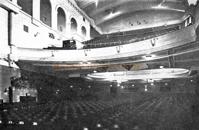 The Auditorium of the King's Cross Cinema - From the Academy Architecture and Architectural review of 1921.