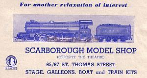 Cutting from a 1948 Scarborough Opera House Programme