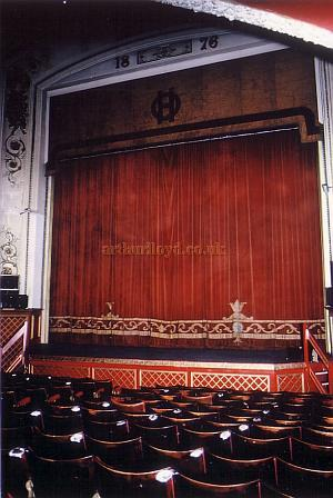 The Stage and Stalls of the Scarborough Opera House in 1990 - Courtesy Ted Bottle.