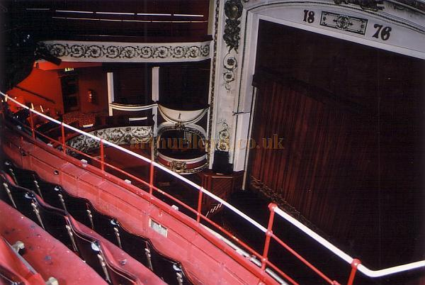 The auditorium of the Scarborough Opera House in 1990 - Courtesy Ted Bottle.