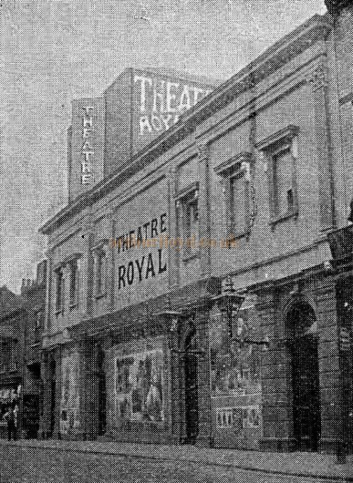 The Theatre Royal, Scarborough - From 'The Playgoer' in 1901 - Courtesy Iain Wotherspoon.