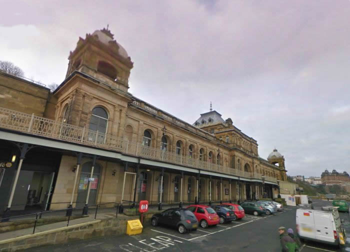 A Google StreetView Image of the Scarborough Spa Complex and Theatre - Click to Interact
