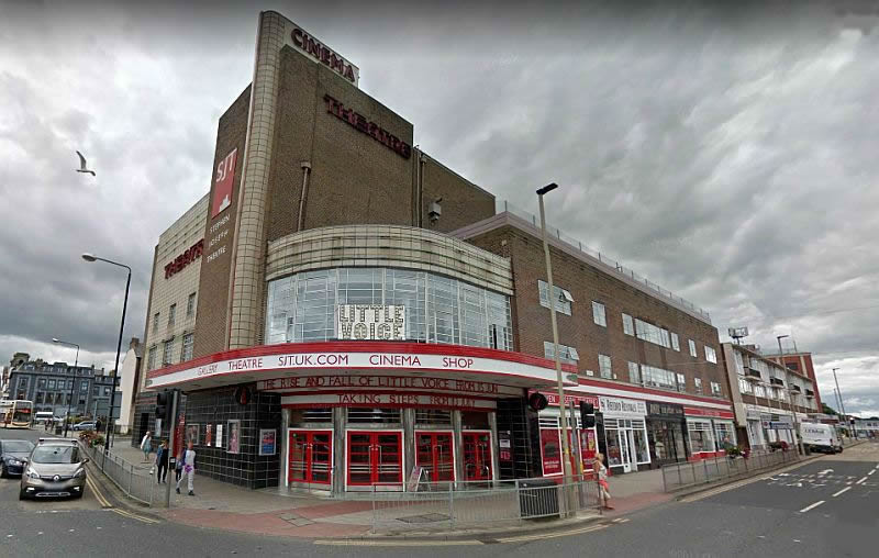 A Google StreetView Image showing the Stephen Joseph Theatre, Scarborough - Click to Interact.