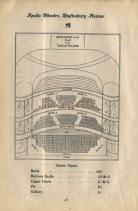 Apollo Theatre Seating Plan - Pre 1907