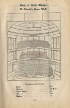 Seating Plan for The Duke of York's Theatre - Pre 1907 -  Click to Enlarge