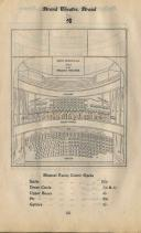 An early Seating Plan for the Strand Theatre, formerly the Waldorf Theatre and now the Novello - Click to Enlarge.