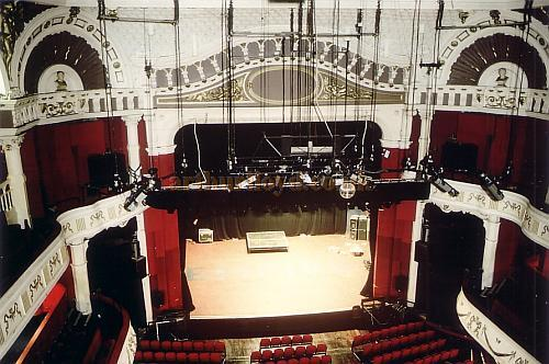 The auditorium of the Shepherds Bush Empire in 1999 - Courtesy Ted Bottle