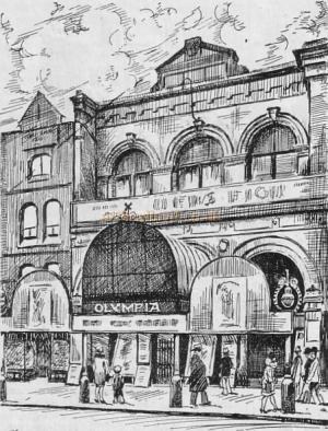 The Olympia Theatre, Shorditch - From - The Romance of London Theatres by Ronald Mayes, 1929
