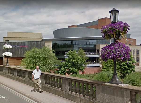 A Google StreetView Image of the Theatre Severn, Shrewsbury - Click to Interact.