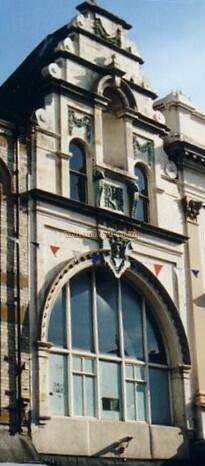 The remaining Facade of the South Shields Empire in 2004 - Courtesy Gareth Price.