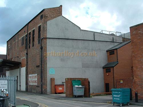 The rear of the South Shields Theatre Royal in 2008 - Courtesy John West.