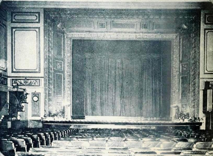 A photograph of the interior of the Rivoli Picture House - From the Picturegoer of January 1923.