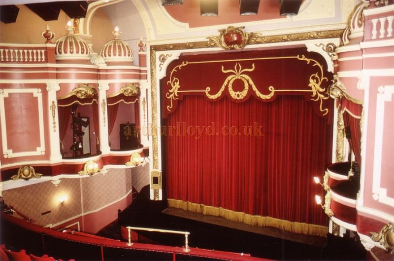 The Auditorium of the Palace Theatre, Westcliff-on-Sea, Southend in 1990 - Courtesy Ted Bottle